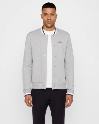 J.Lindeberg Jasper Sweater Jacket Grey