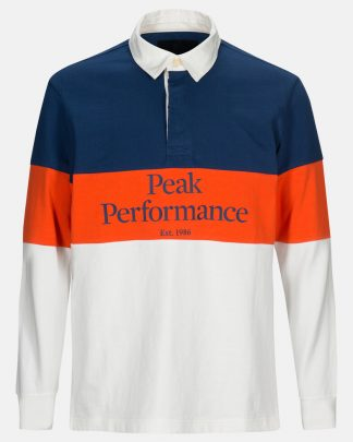 Peak Performance Rugby Ls Blue