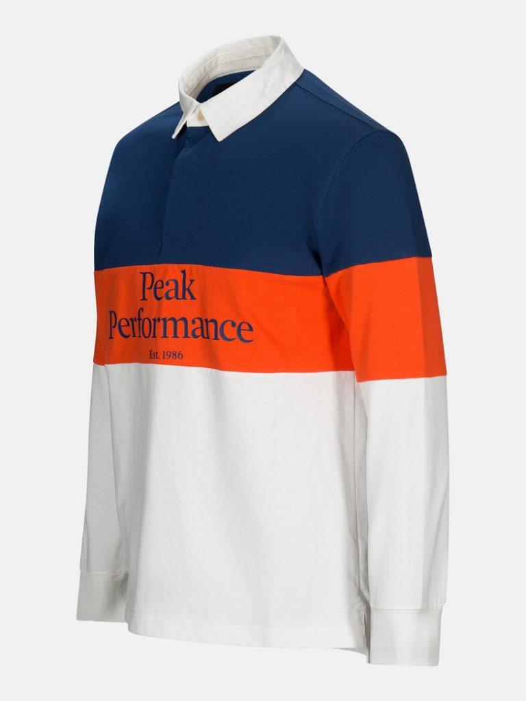 Peak Performance Rugby Ls Blue