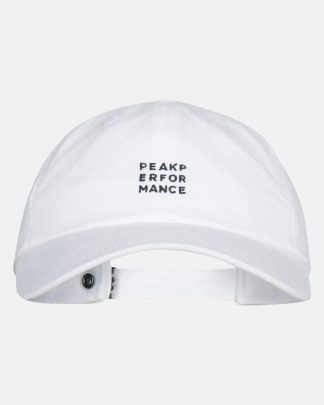Peak Performance Ground Cap White