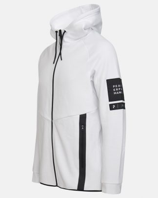 Peak Performance Tech Zip Hood White
