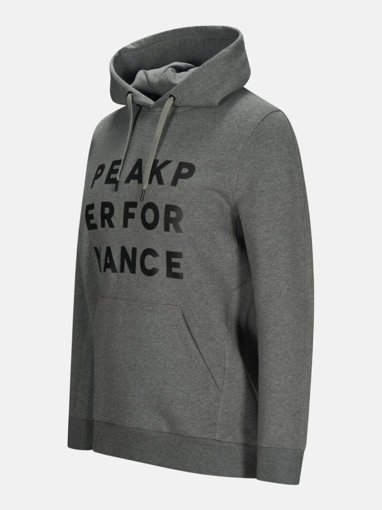 Peak Performance Ground Hood Grey