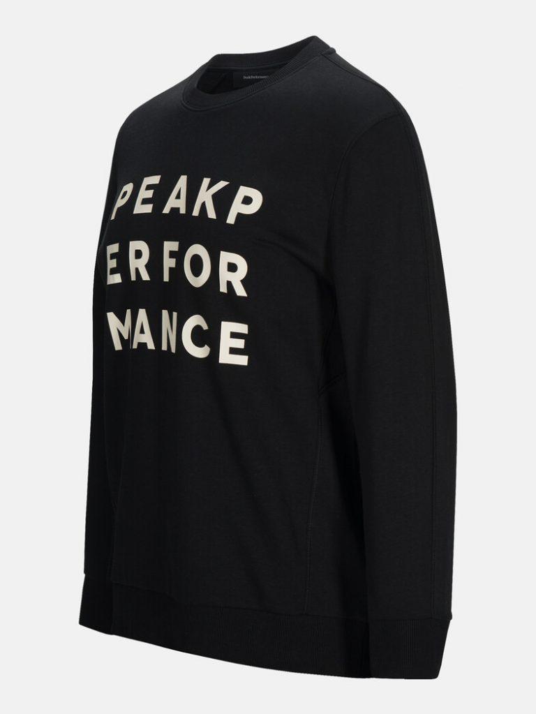 Peak Performance Ground Sweater Black