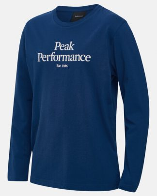 Peak Performance Original Long Sleeve Junior Blue