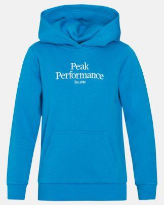 Peak Performance Original Hoodie Junior Blue