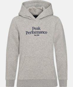 Peak Performance Original Hoodie Junior Grey