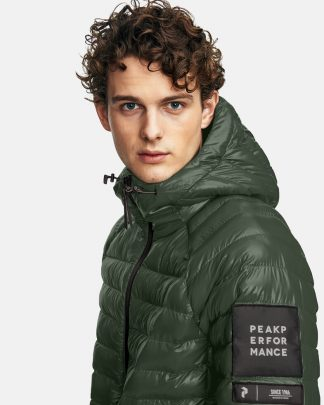 Peak Performance Padded Jacket Green