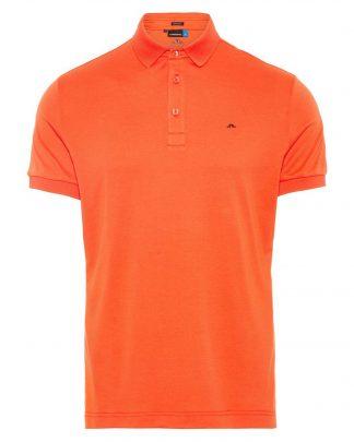 J.Lindeberg Stan Polo Shirt Red