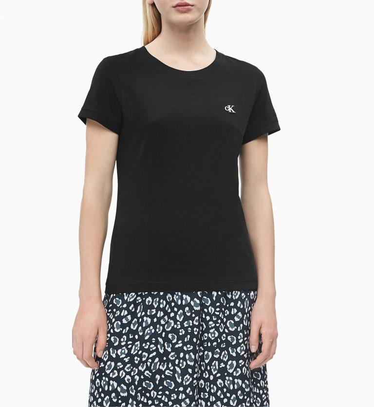 Calvin Klein Jeans Organic Cotton T-shirt Black