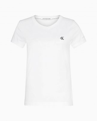 Calvin Klein Jeans Organic Cotton T-shirt White