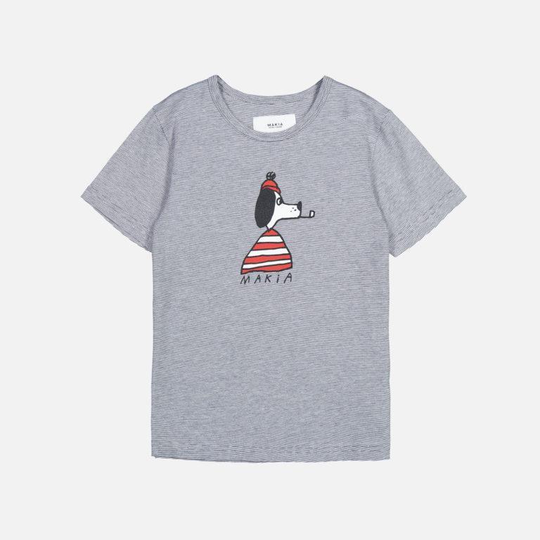 Makia Kids Seadog T-shirt Navy/White