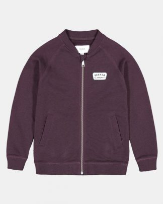 Makia Kids Emblem Sweatshirt Wine