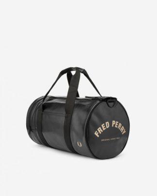 Fred Perry Barrel Bag Black