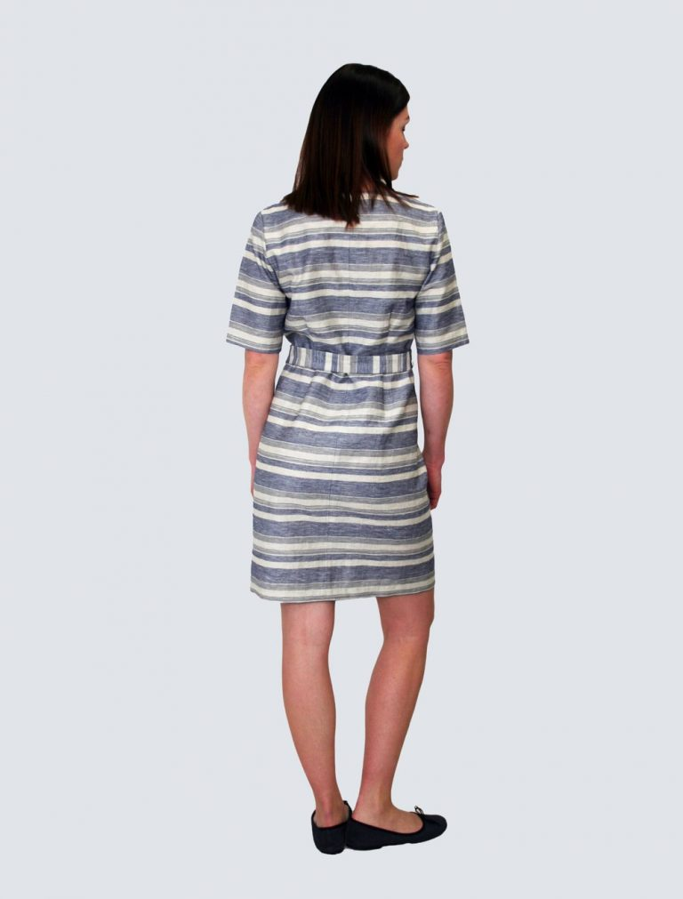 Lille Clothing Elvi Stripe Dress Sininen