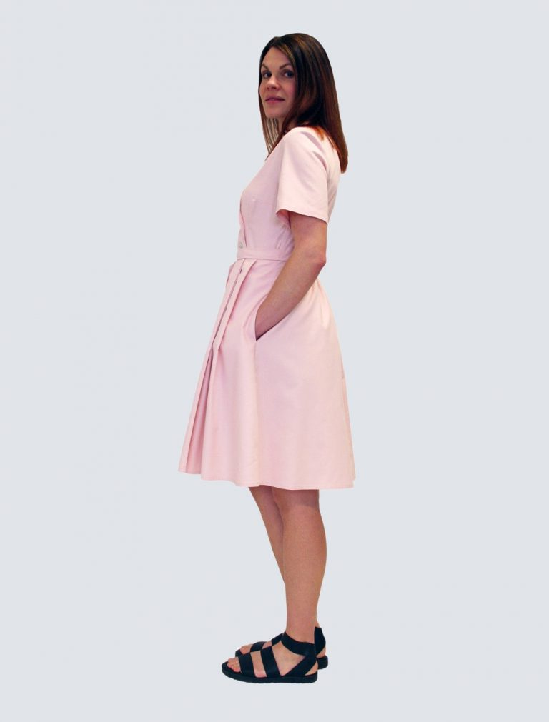 Lille Clothing Sofia Dress Rosa