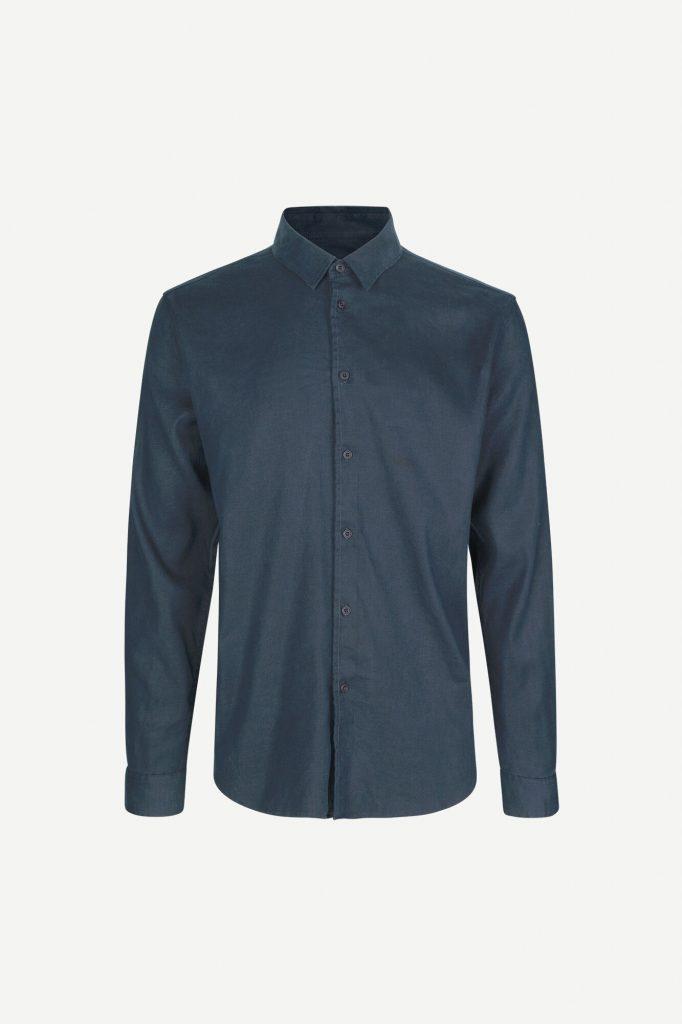 Samsoe&Samsoe Liam Shirt Blue