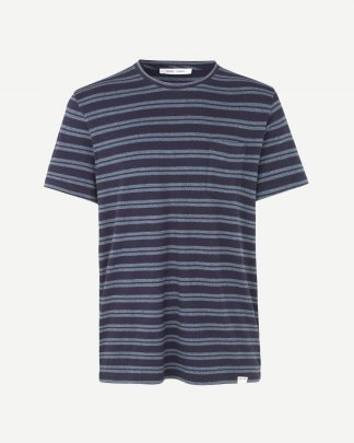 Samsoe&Samsoe Carpo T-shirt Blue