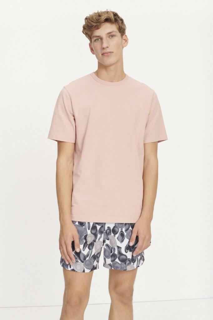 Samsoe&Samsoe Hugo T-shirt Misty Rose