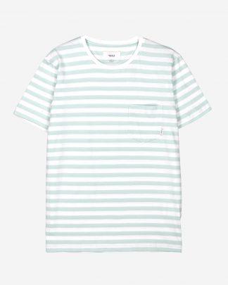 Makia Verkstad T-shirt Mint-White