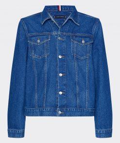 Tommy Hilfiger Denim Trucker Jacket Blue