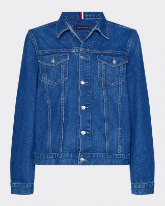 Tommy Hilfiger Denim Trucker Jacket Blue
