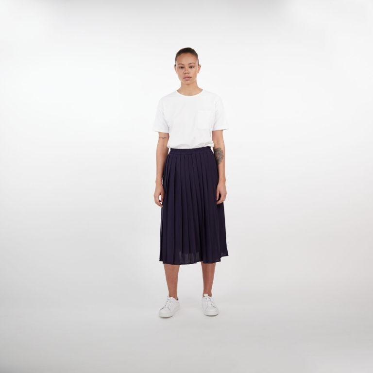 Makia Stream Skirt Navy