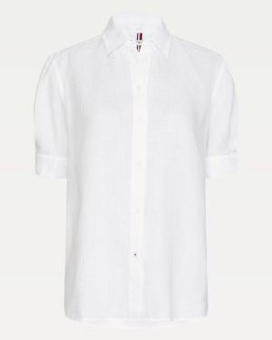 Tommy Hilfiger Penelope Linen Shirt White