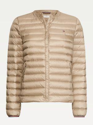 Tommy Hilfiger Bella Padded Jacket Beige