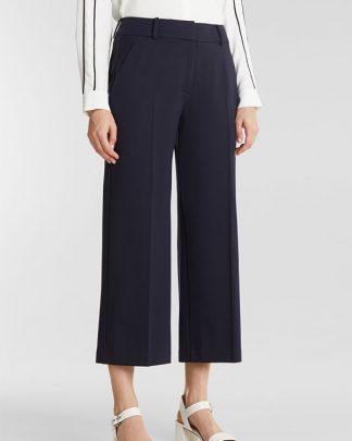 Esprit Culotte Pants Navy