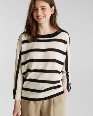 Esprit Sweater Offwhite Stripe