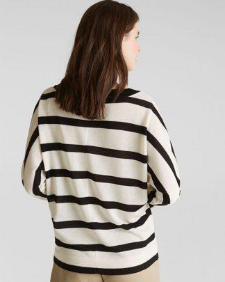 Esprit Sweater Offwhite Stripe