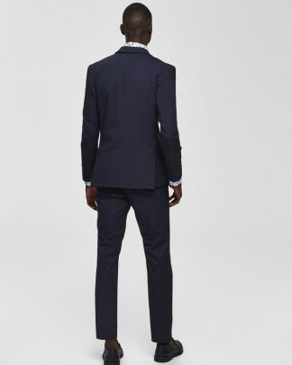 Selected Mylo Logan Blazer Blue