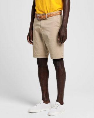 Gant Twill Shorts Beige