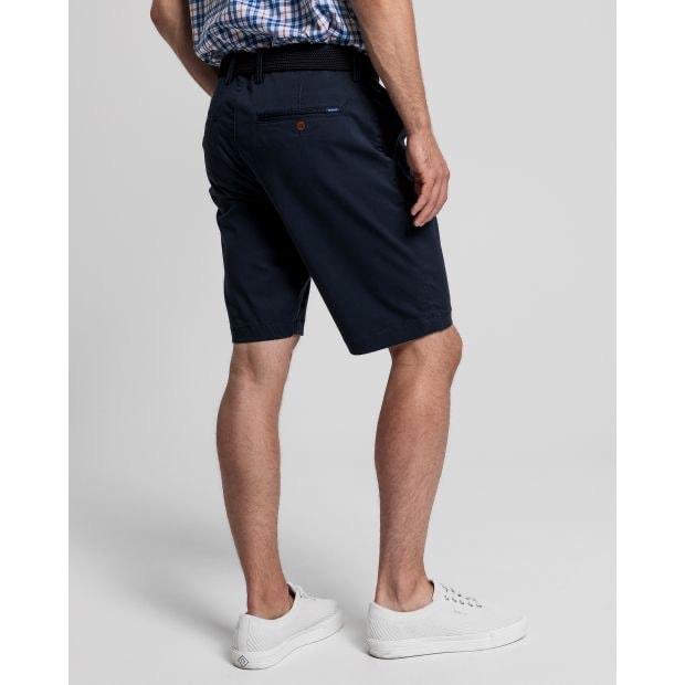 Gant Twill Shorts Navy