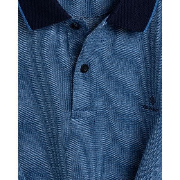 Gant Oxford Piqué Rugger Pacific Blue
