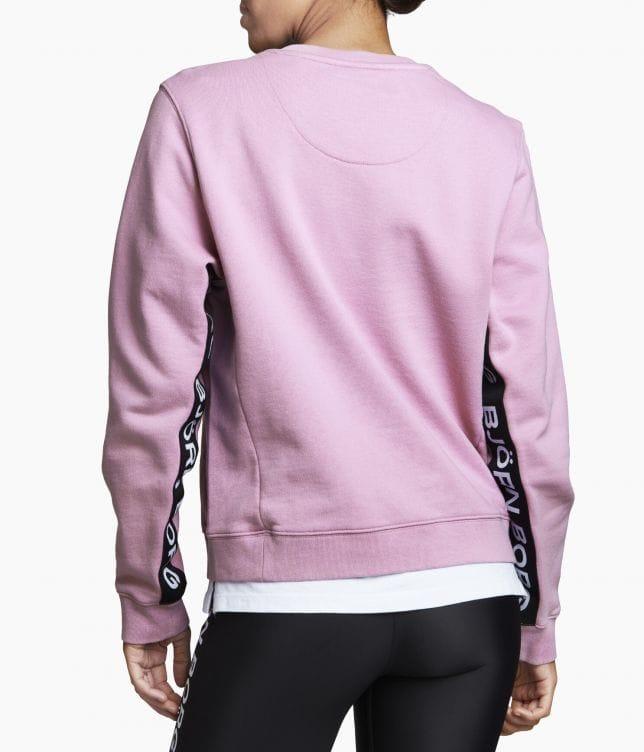 Björn Borg Helena Crew Pink Violet