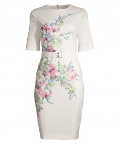 Ted Baker Camliaa Dress Ivory