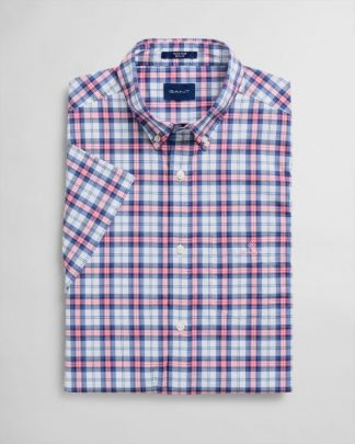 Gant Multi Check Shirt Rapture Rose