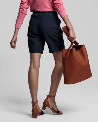 Gant Summer Linen Shorts Navy
