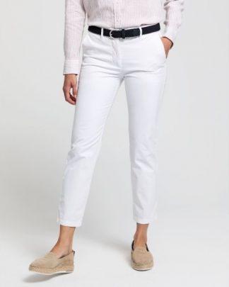 Gant Women Classic Chino White