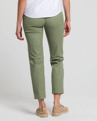Gant Women Classic Chino Green