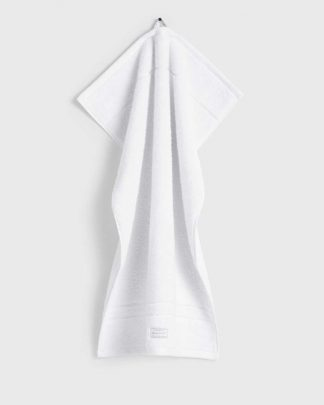 Gant Home Organic Cotton Premium Terry Towel White
