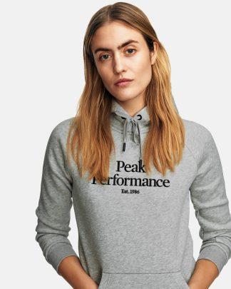 Peak Performance Original Hoodie Grey