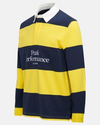 Peak Performance Light Rugby Shirt Stowaway yellow