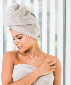 Luin Living Hair Towel Sand
