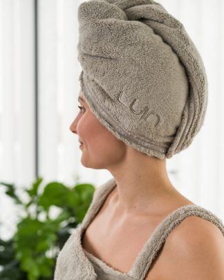 Luin Living Hair Towel Sand