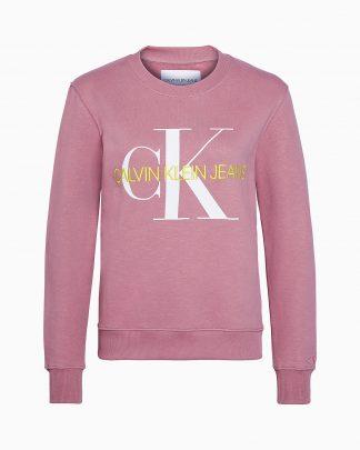 Calvin Klein Monogram Sweater Apricot