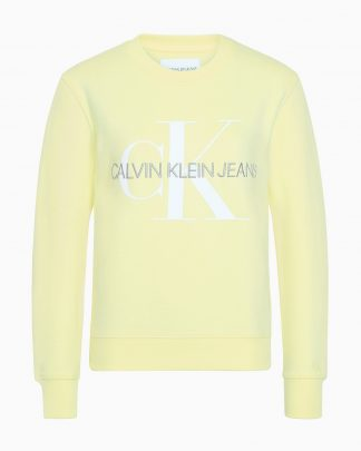 Calvin Klein Monogram Sweater Yellow