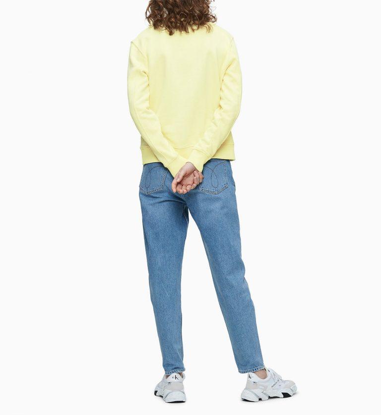 Calvin Klein Monogram Sweater Yellow