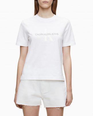 Calvin Klein Monogram T-shirt White